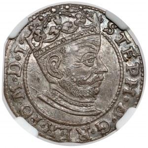 Stefan Batory, Grosz Ryga 1581 - gabinetowy
