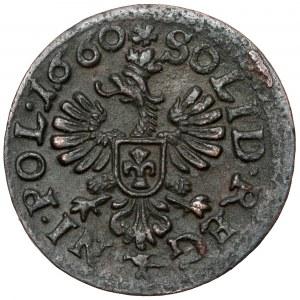 Jan II Kazimierz, Boratynka koronna 1660, Kraków