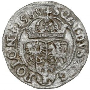 Zygmunt III Waza, Szeląg Olkusz 1588