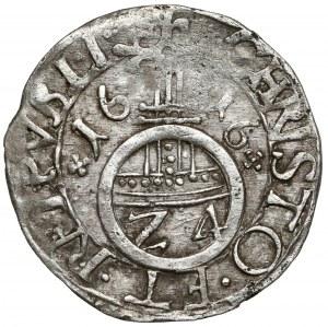 Pomorze, Filip II, Półtorak (Reichsgroschen) 1616, Szczecin