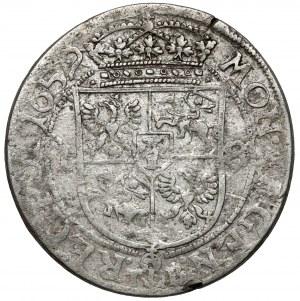 Jan II Kazimierz, Ort Kraków 1659 TLB - Ślepowron