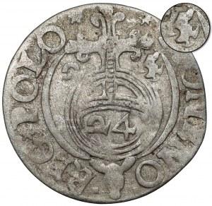 Zygmunt III Waza, Półtorak Bydgoszcz 1625 - Półkozic - przebitka z 1624