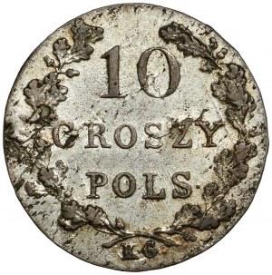 Powstanie Listopadowe, 10 groszy 1831 - łapy zgięte
