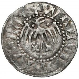 Władysław II Jagiełło, Kwartnik ruski, Lwów - duży orzeł - + na ogonie