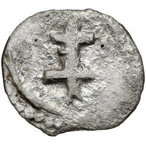 Władysław II Jagiełło, Denar Kraków - podwójny krzyż