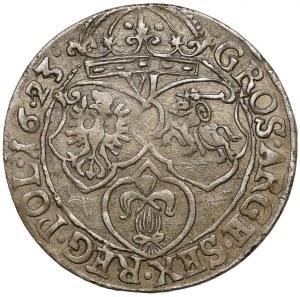 Zygmunt III Waza, Szóstak Kraków 1623 - SIGISMVN