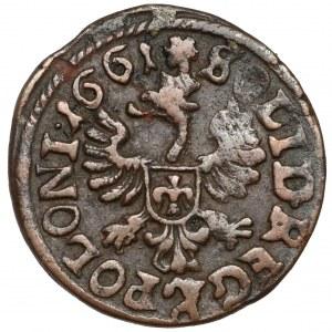 Jan II Kazimierz, Boratynka koronna 1661, Ujazdów - REG