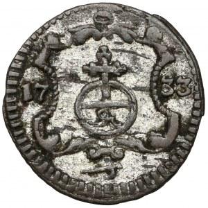 August II Mocny, Halerz 1733 IGS, Drezno
