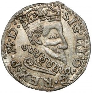 Zygmunt III Waza, Trojak anomalny 1601 - wzorowany na Lublin - PIĘKNY