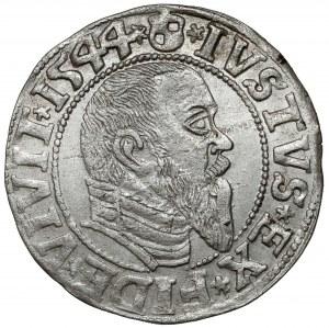 Prusy, Albrecht Hohenzollern, Grosz Królewiec 1544