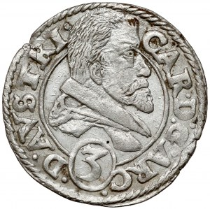 Śląsk, Karol Austriacki, 3 krajcary 1615, Nysa