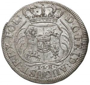 August II Mocny, 1/24 talara 1705 ILH, Drezno