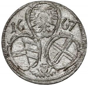 Austria, Leopold I, 2 fenigi 1684, Wiedeń