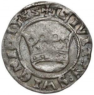Śląsk, Świdnica, Ludwik Jagiellończyk, Półgrosz 1522 - odwrócone ZZ