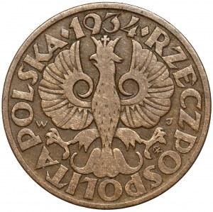 5 groszy 1934 - rzadkie