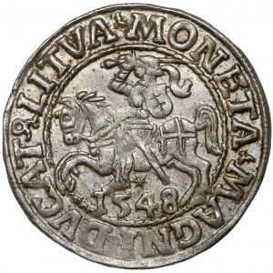 Zygmunt II August, Półgrosz Wilno 1548 - rzymska
