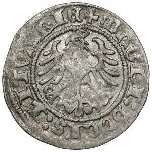 Zygmunt I Stary, Półgrosz Wilno 1518 - Pogoń z pochwą