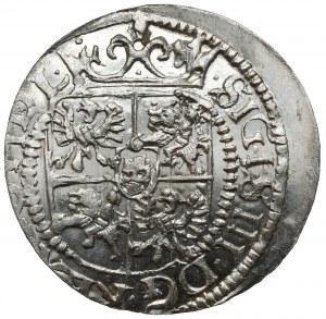 Zygmunt III Waza, Grosz (półtorak) Ryga 1617 - RZADKI