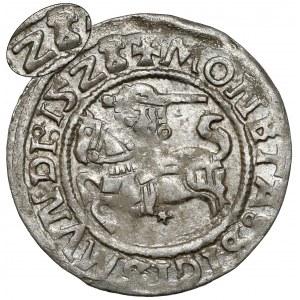Zygmunt I Stary, Półgrosz Wilno 1523 - przebita data - RZADKI