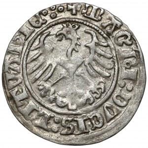Zygmunt I Stary, Półgrosz Wilno 1513 - kółko pod Pogonią - b.rzadki