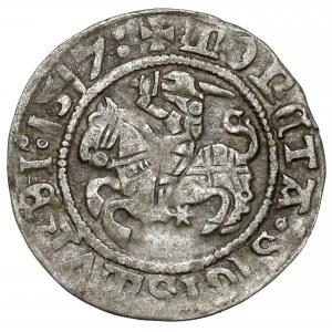 Zygmunt I Stary, Półgrosz Wilno 1517 - LITVANIE •