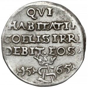 Zygmunt II August, Trojak Tykocin 1565 - Szyderczy