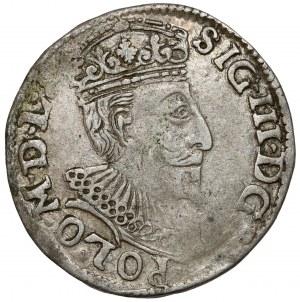 Zygmunt III Waza, Trojak Olkusz 1595