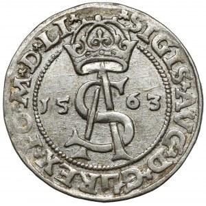 Zygmunt II August, Trojak Wilno 1563 - z DG - LI*/LI