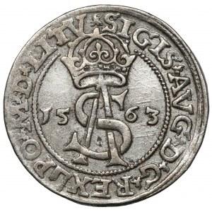 Zygmunt II August, Trojak Wilno 1563