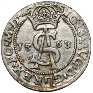 Zygmunt II August, Trojak Wilno 1563 - z DG - L*/LI