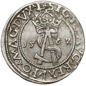Zygmunt II August, Trojak Wilno 1562 - L/L