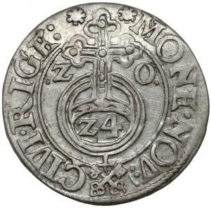 Zygmunt III Waza, Półtorak Ryga 1620 - klucze