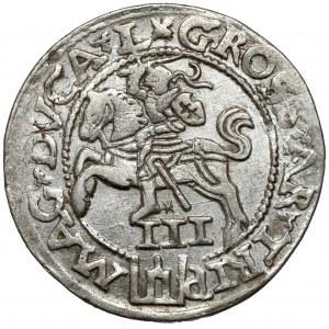 Zygmunt II August, Trojak Wilno 1562 - duża Pogoń - L/L