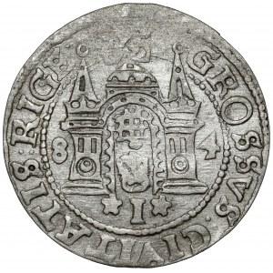 Stefan Batory, Grosz Ryga 1584 - małe popiersie - RZADKI