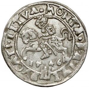 Zygmunt II August, Grosz na stopę litewską 1546, Wilno - błąd MONTA