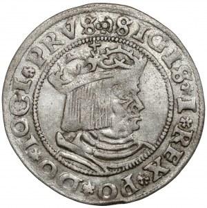 Zygmunt I Stary, Grosz Toruń 1529 - PRVS