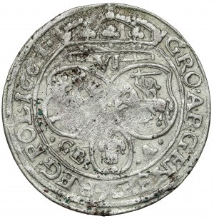 Jan II Kazimierz, Szóstak Lwów 1661 GBA