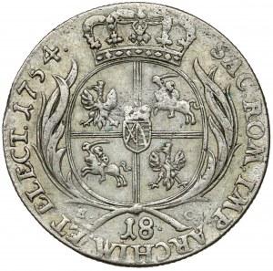 August III Sas, Ort Lipsk 1754 EC - buldogowate
