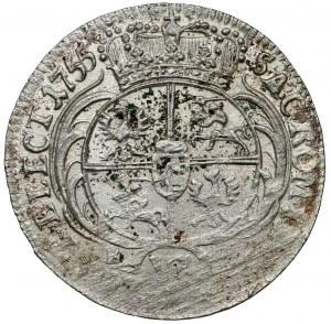 August III Sas, Szóstak Lipsk 1755 EC - efraimek?