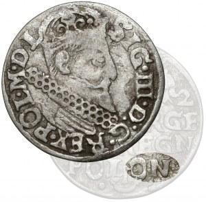Zygmunt III Waza, Trojak Kraków 1622 - POLON - b.rzadki