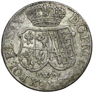 August III Sas, 1/12 talara 1763 FWóF, Drezno