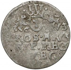 Gustaw II Adolf, Trojak Elbląg 1633 - bardzo rzadki
