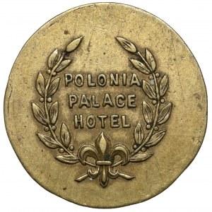 Polonia Palace Hotel - żeton o nominale 10