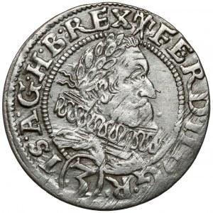 Śląsk, Ferdynand II, 3 krajcary 1628 HR, Wrocław