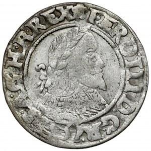 Śląsk, Ferdynand III, 3 krajcary 1643 MI, Wrocław