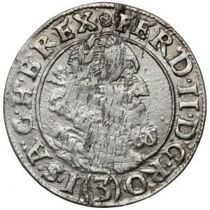 Śląsk, Ferdynand II, 3 krajcary 1627 HR, Wrocław
