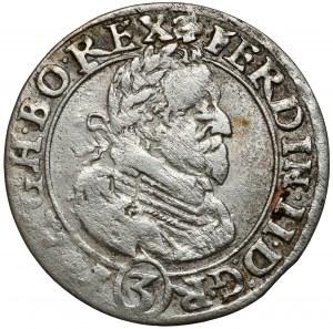 Śląsk, Ferdynand II, 3 krajcary 1626 HR, Wrocław