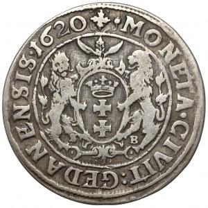 Zygmunt III Waza, Ort Gdańsk 1620 - rzadki rok