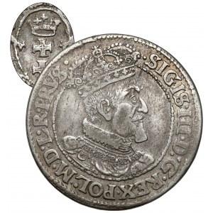 Zygmunt III Waza, Ort Gdańsk 1620 - rzadki rok - dwa krzyże