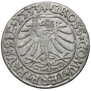 Zygmunt I Stary, Grosz Toruń 1533 - PRVSSIE